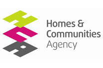 Homes & Communities Agency Logo