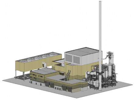 Ridham Docks Biomass Power, Kent